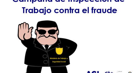 Nueva campaña de la Inspección de Trabajo contra el fraude