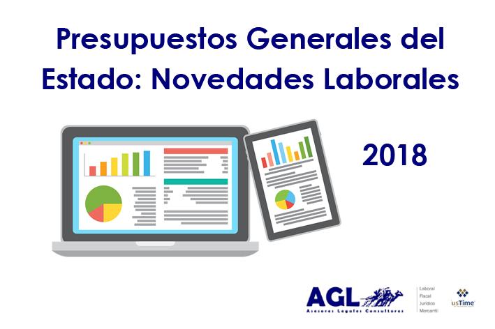 Presupuestos Generales del Estado: Novedades Laborales