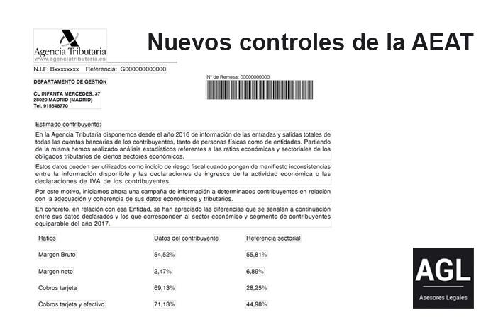 NUEVOS CONTROLES DE LA AEAT PARA EL CUMPLIMIENTO VOLUNTARIO DE LAS OBLIGACIONES TRIBUTARIAS