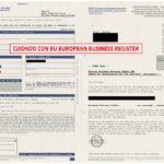 Cuidado con EU Business Register
