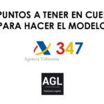 Modelo 347 - Asesoría Barcelona