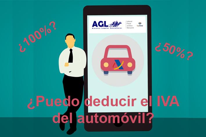 ¿Puedo deducir el IVA del automóvil?