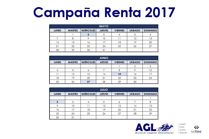 Campaña Renta AGL 2017