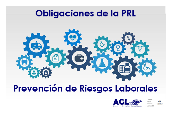 Obligaciones en materia de prevención de riesgos laborales