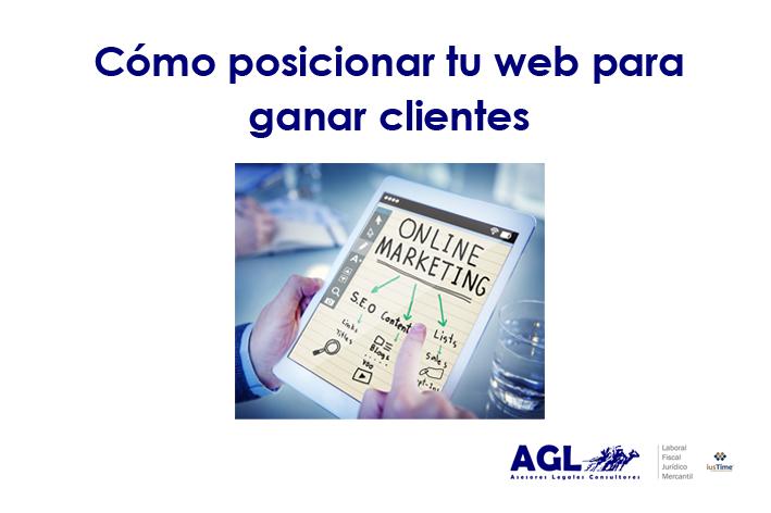 CÓMO POSICIONAR TU WEB PARA GANAR CLIENTES