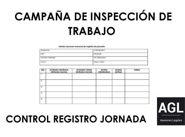 OBLIGACIÓN REGISTRO DE JORNADA