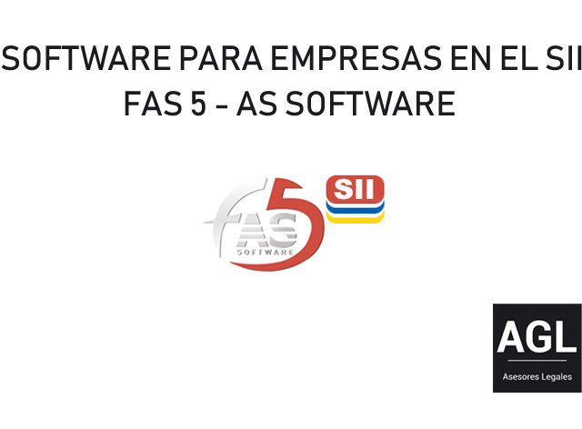 SOFTWARE PARA EMPRESAS EN EL SII. FAS 5 DE AS SOFTWARE