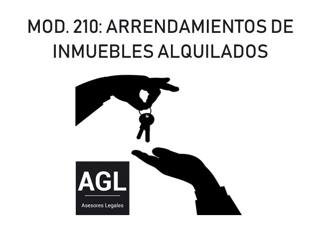 EL MODELO 210 EN CASO DE ALQUILERES DE NO RESIDENTES