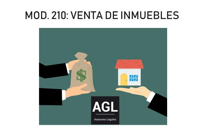 EL MODELO 210 EN CASO DE VENTA DE BIENES INMUEBLES POR NO RESIDENTES EN ESPAÑA