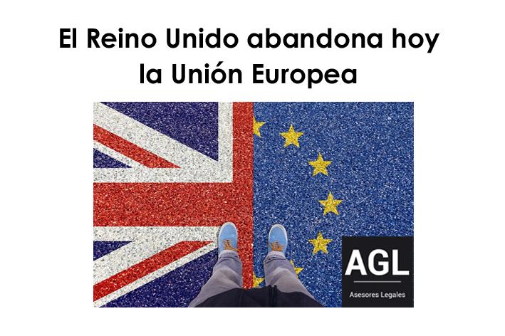 EL REINO UNIDO ABANDONA HOY LA UNIÓN EUROPEA