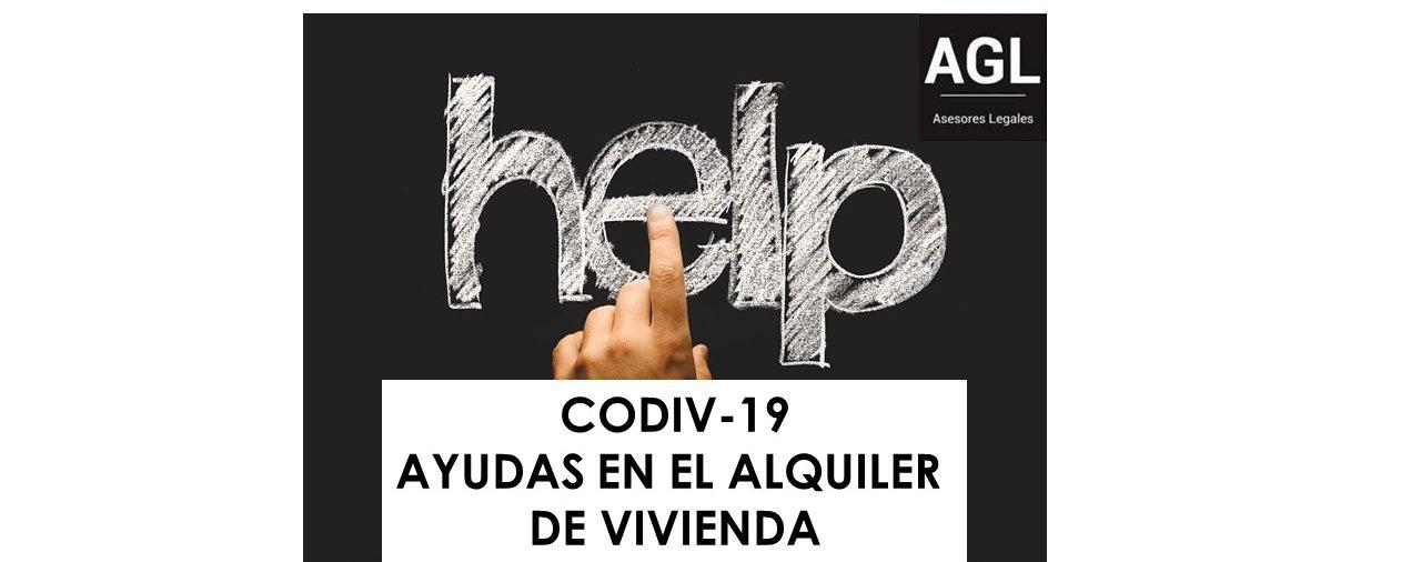 CODIV-19: AYUDAS EN EL ALQUILER DE VIVIENDA