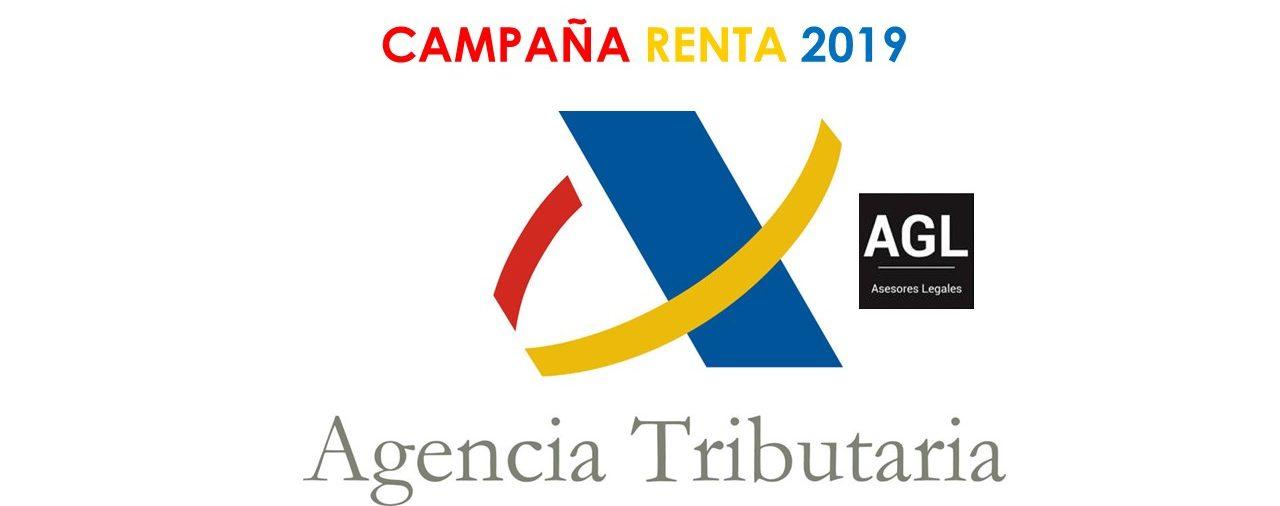 EMPEZAMOS LA CAMPAÑA DE RENTA 2019