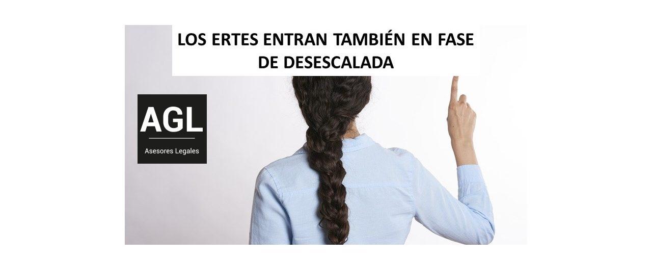 LOS ERTES ENTRAN TAMBIÉN EN FASE DE DESESCALADA