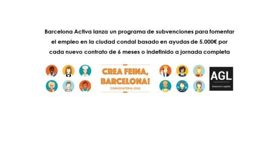 CREA FEINA, BARCELONA! – BARCELONA ACTIVA