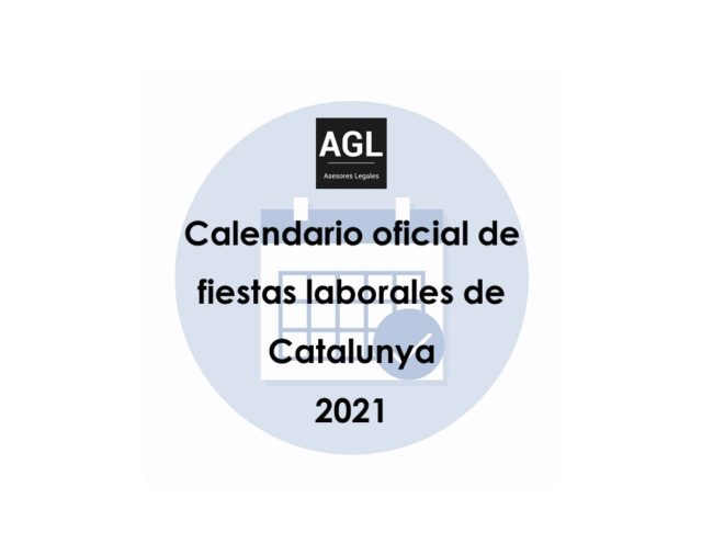 CALENDARIO OFICIAL DE FIESTAS LABORALES DE CATALUNYA 2021