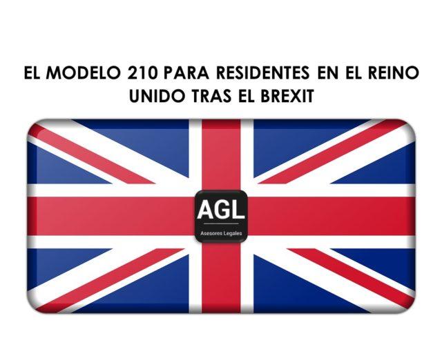 EL MODELO 210 PARA RESIDENTES EN EL REINO UNIDO TRAS EL BREXIT