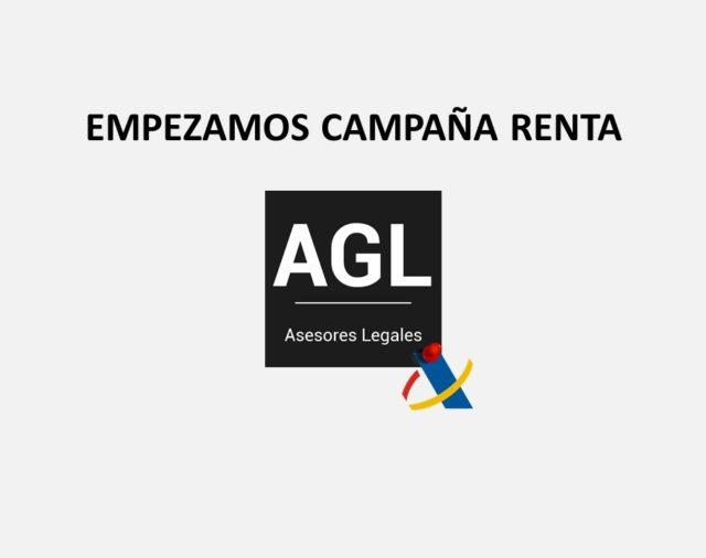 EMPEZAMOS CAMPAÑA DE RENTA