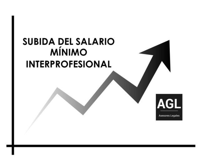SUBIDA DEL SALARIO MÍNIMO INTERPROFESIONAL